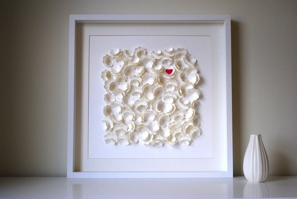 wedding guestbook alternative 3D frame