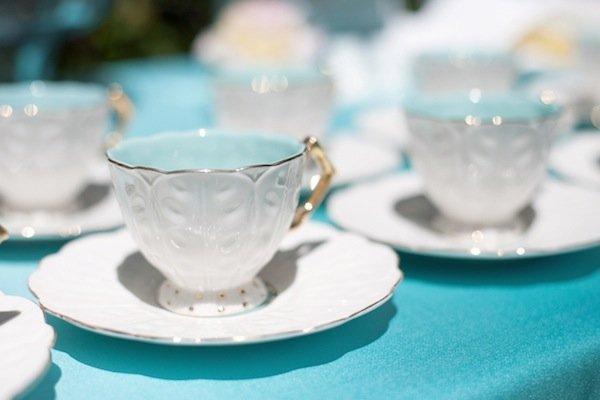tiffany blue bridal shower