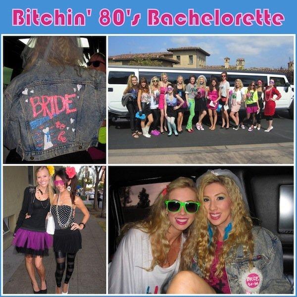80s bachelorette party theme