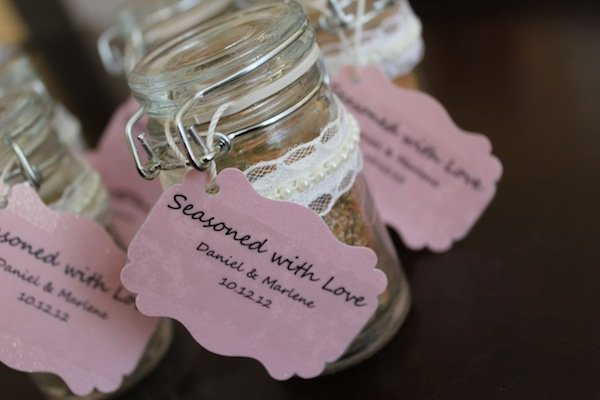wedding favor ideas spice rub