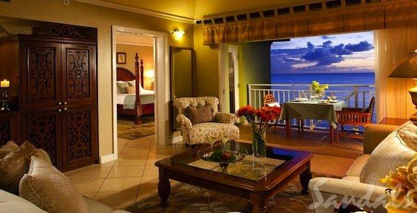 st. lucia romeo & juliet penthouse suite