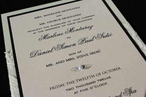 scottsdale custom wedding invitations the event essentials