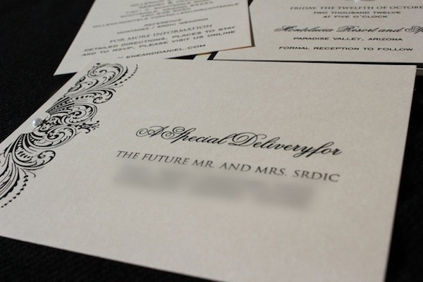 elegant blush ivory lace wedding invitations
