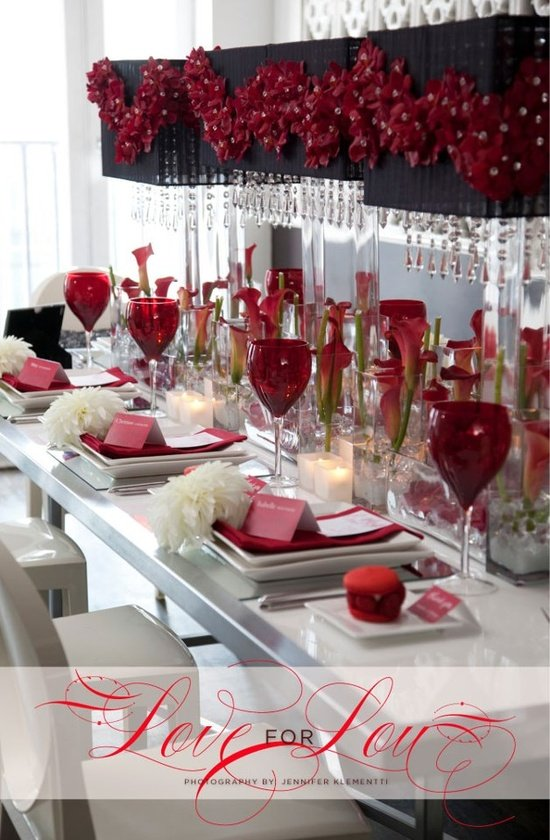 {Wedding Wednesday} Valentine's Day Wedding Ideas