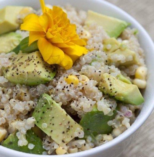 Quinoa Avocado Corn Salad recipe