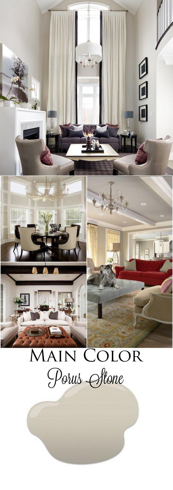 best interior grey paint porus stone