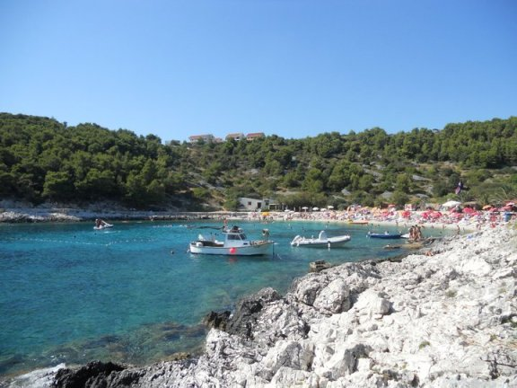 beach on hvar