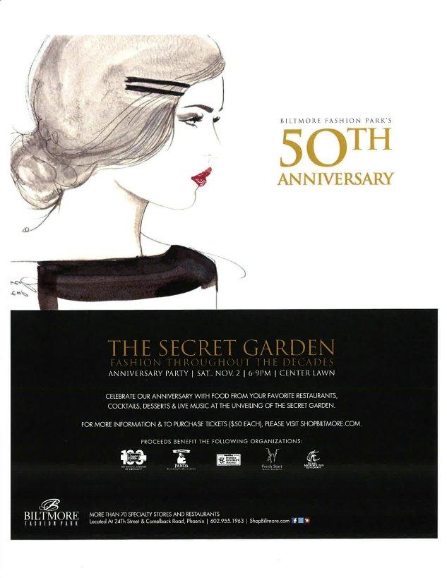 biltmore fashion park 50th anniversary event