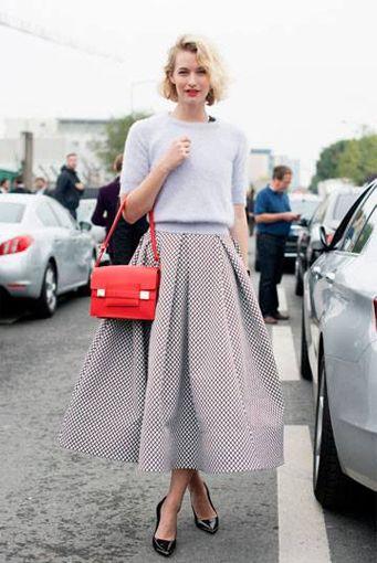 fashion trend midi skirt
