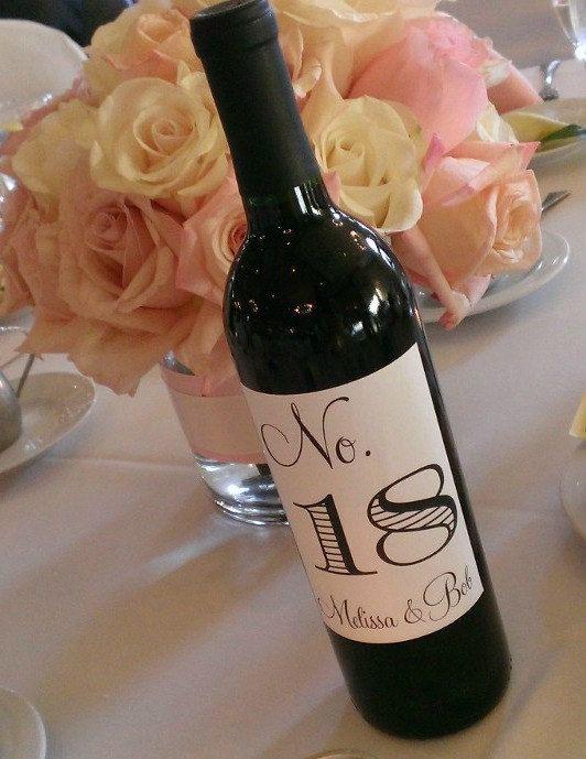 wine bottle table tops