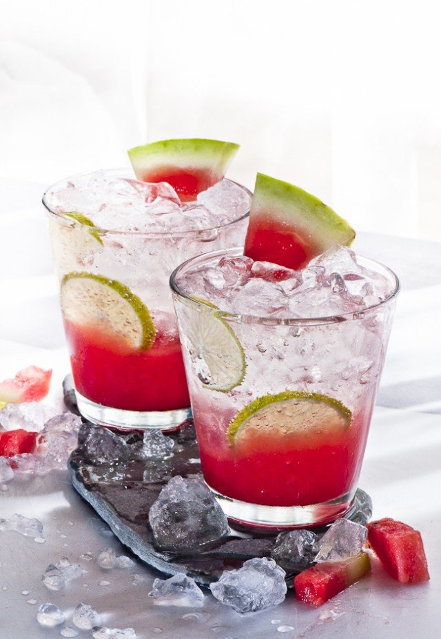 sparkling watermelon cocktail recipe