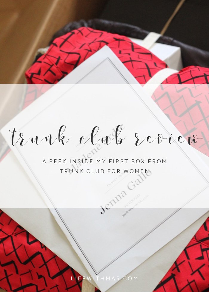 trunk club for women review, free personal styling service for women! Way better than Stitch Fix. Click to read the full review