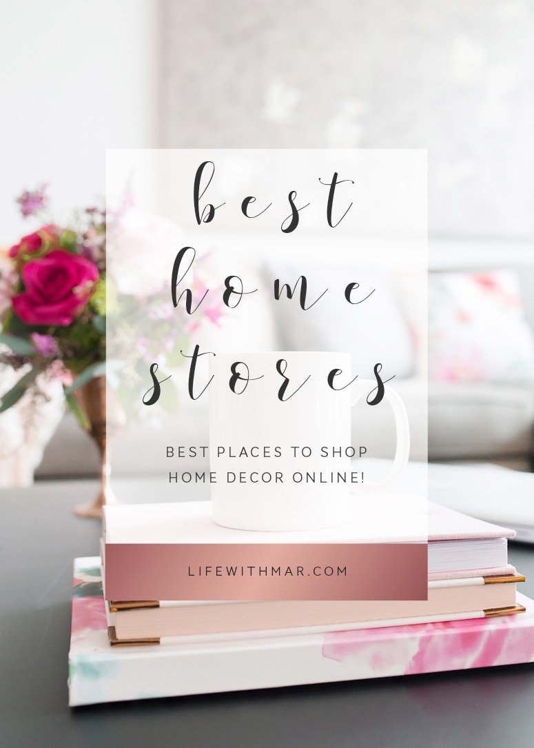 Your ultimate guide to the best places to shop home decor online! Plus tips on the best home website and how to shop online. Click to read the full post