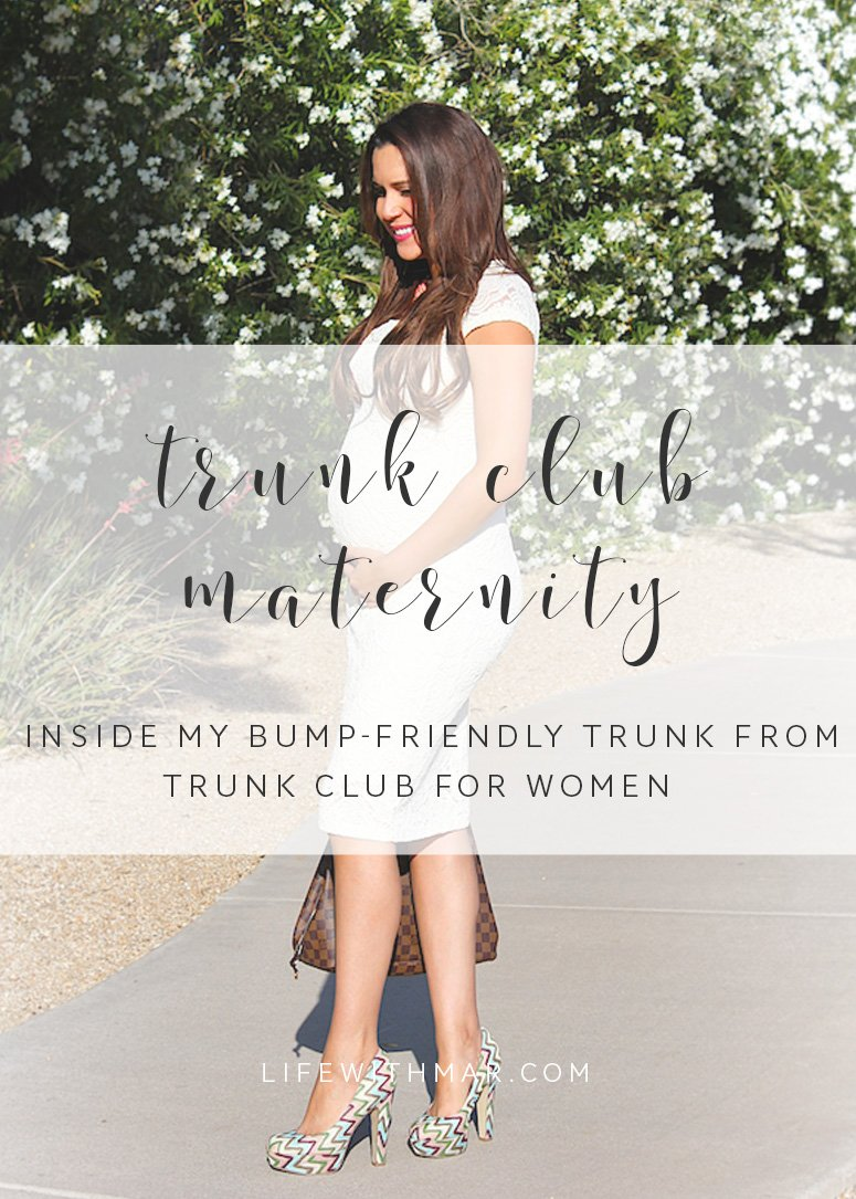 Trunk Club maternity, inside my latest trunk from Trunk Club for women where I requested bump-friendly styles ! Click to see the full Trunk Club haul