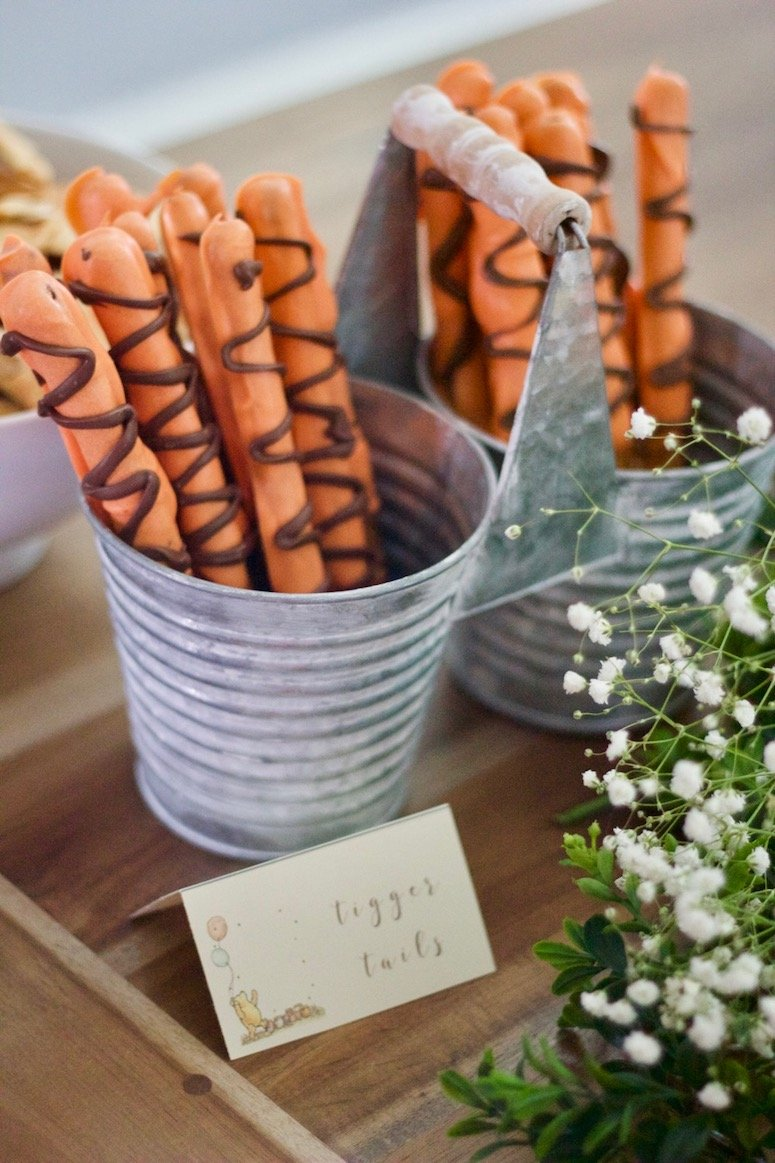Tigger tails, see more from this Classic Winnie the Pooh baby shower!