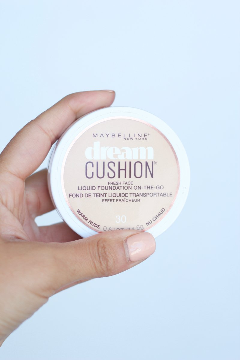 Maybelline dream cushion foundation review