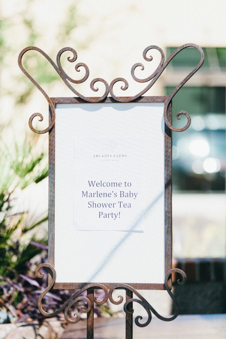 Tea party baby shower ideas, click to see the rest of the photos in the post!