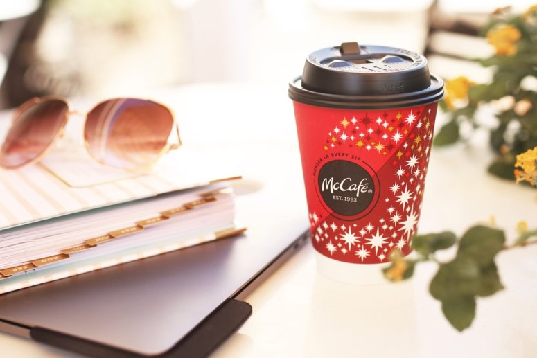 new mccafé at mcdonalds