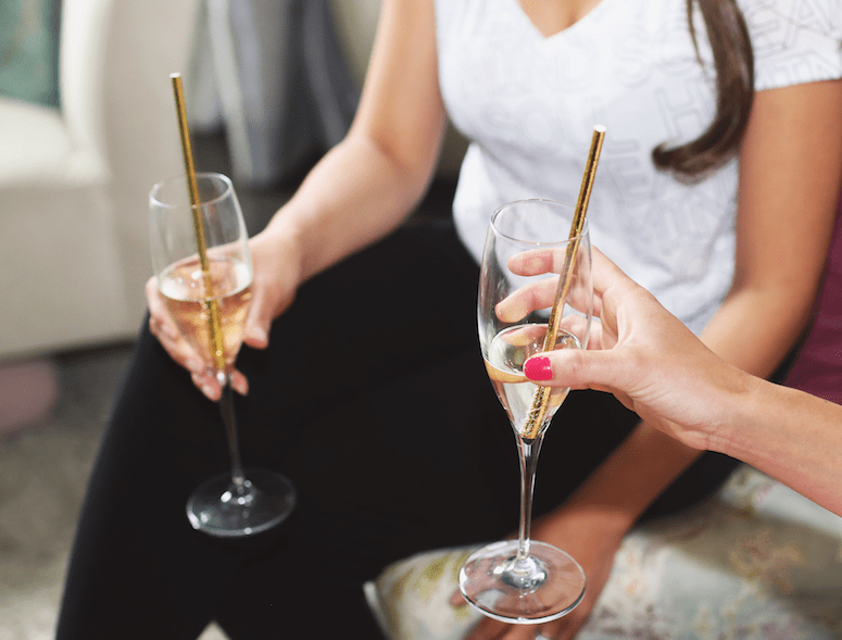 pjs and prosecco party