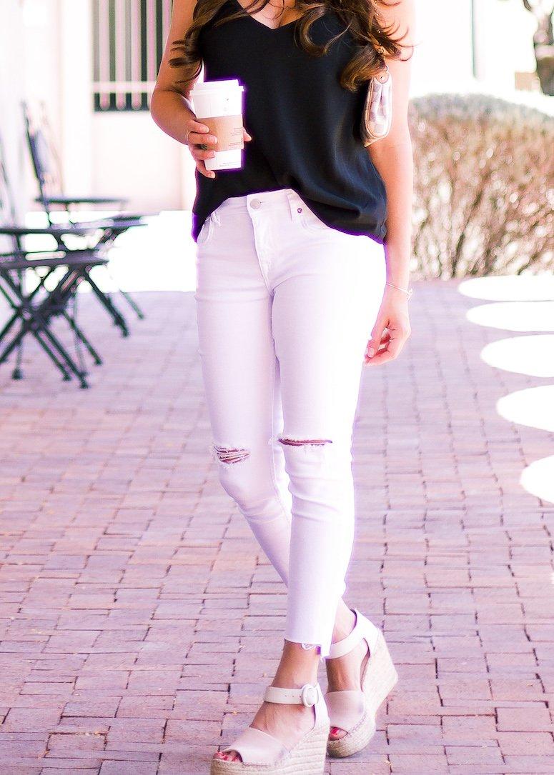 white jeans that aren't see through
