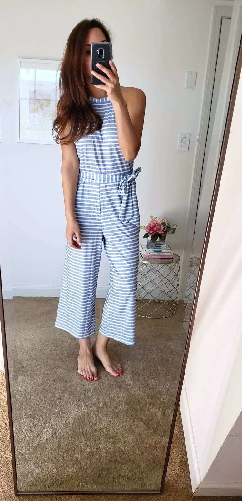 amazon fashion finds spring try on haul jumpsuit