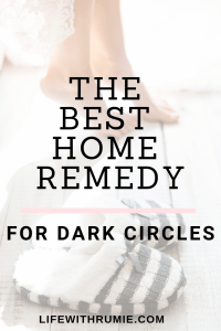 The most effective way to get rid of dark circles naturally