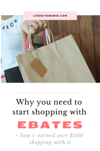 Ebates review + how I earned over $500 shopping