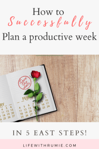 How to plan your most productive week ever