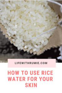 How to use rice water for a flawless skin