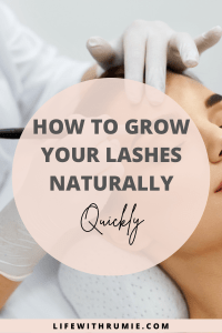 how i was able to grow my lashes and eyebrows easily and quickly in just 3 days