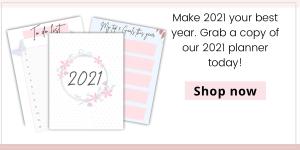 life planner, 2021 planner, printable planner