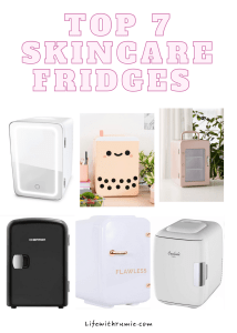 cheap skincare fridges