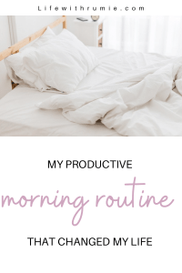 Healthy morning routine that works