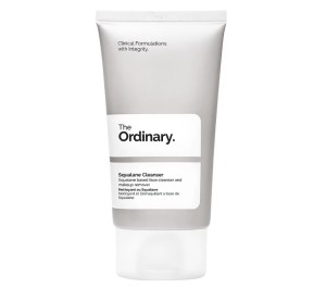 squalane cleanser from the ordinary skincare routine