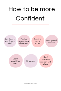how to be confident, how to more feminine