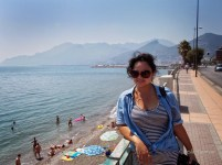 Beach time in Salerno
