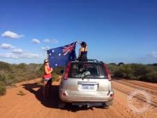 manchmal muss mal einfach nachhelfen, damit die Flage fliegt :P