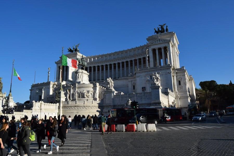 3 Days in Rome - Piaza Venezia