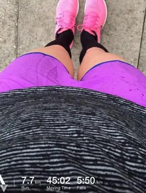 7.7km Run