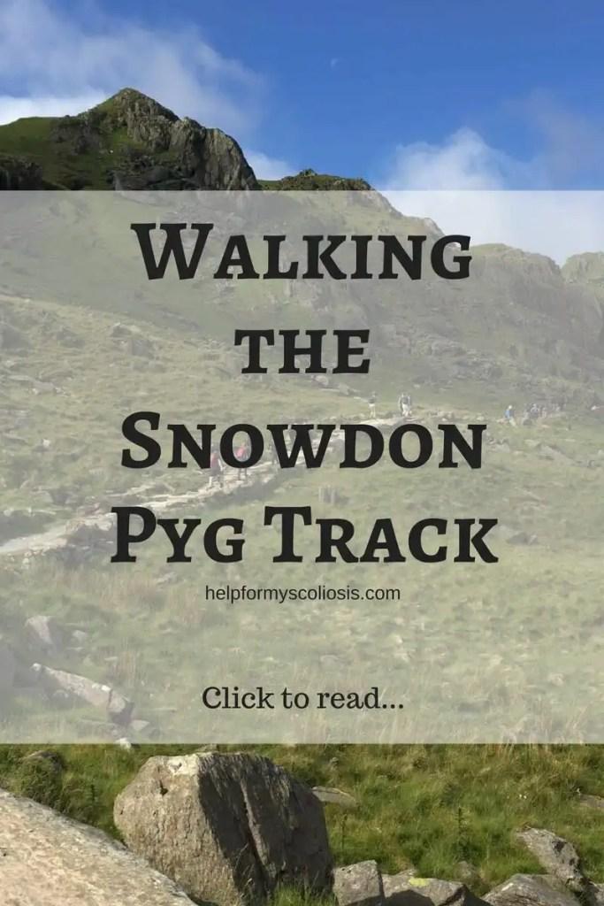 Walking the Snowdon Pyg Track