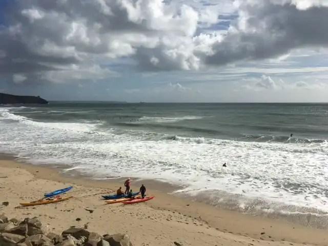 South West Coast Path Day 5 beach