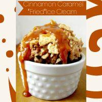"Cinnamon Caramel ""Fried"" Ice Cream"
