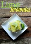 Lime Brownies