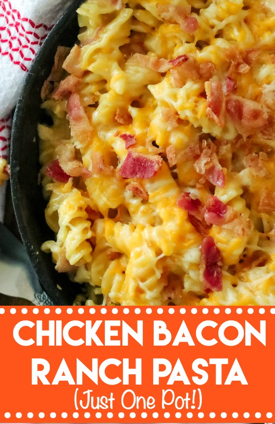 Chicken Bacon Ranch Pasta-8