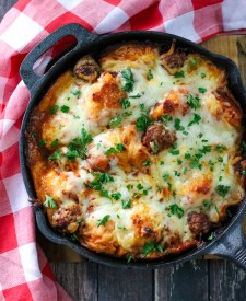 Meatball Sub Bubble Up Bake is everyone's favorite recipe because it is easy, a real crowd pleaser and only 4 ingredients!