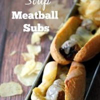 French Onion Soup Meatball Subs