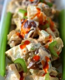 Buffalo Potato Salad