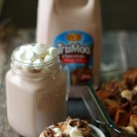 Hot Chocolate Bread Pudding