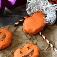 Peanut Butter Cream Pumpkins