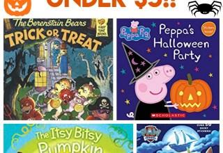 31 Halloween Books for Kids Under $5